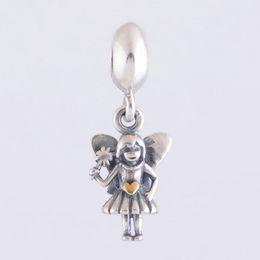 Pandora серебряный волшебный шарм онлайн-Подвески ювелирные изделия фея мотаться S925 стерлингового серебра подходит для Пандора стиль браслеты бесплатная доставка ale175H9