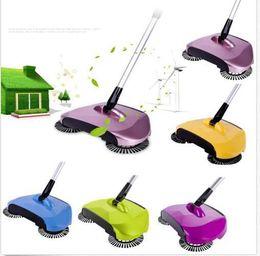 Wholesale Magic Dust Cleaning - Magic Broom Dustpan Hand Push Sweeper Sweeping Machine Household Cleaning Floor Dust Sweeper Magic Broom Without Electricity KKA1675