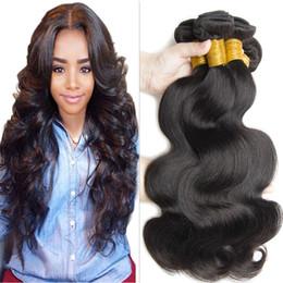 Brezilyalı Saç Demetleri Virgin İnsan saç dokuma Vücut Dalga atkı 100% Ucuz Işlenmemiş Perulu Hint Malezya Boyalı Saç Uzantıları cheap dyeable human hair wefts nereden boyanabilir insan saç atkıları tedarikçiler