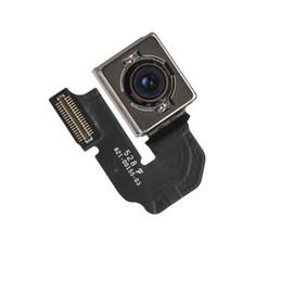 Wholesale Iphone Flash Repair - Original OEM Rear Back Camera For iPhone 5s 6s 6plus Module Lens Flash Flex Cable Repair Parts Replacement
