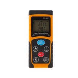 digital laser tool UK - Wholesale-New Arrival CP-40P 40 m Digital Laser distance meter Rangefinder Range finder Tape measure Area volume tool Diastimeter