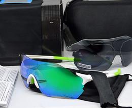 Wholesale Outdoor Cycling Sunglasses - EV zero Cycling Eyewear O Brand Men Fashion Polarized TR90 Sunglasses Outdoor Sport Running Glasses 9313 Colorful,Polariezed,Transparent len