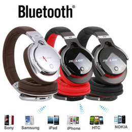Wholesale Buetooth Headset - Original Zealot B17 Bluetooth HiFi Headset Stereo Wireless Buetooth Headphone High Fidelity FM Radio TF Card for Smartphone PC