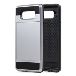 Wholesale Green Products Wholesale - New Arrival Trending Products Hybrid TPU PC Armour Case With Card Slot Mobile Phone Case Accessories For Samsung A5 A7