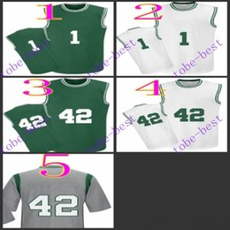 Wholesale Cheap 42 - #1 Jaylen Brown #42 al horford 2016 Cheap Rev 30 Basketball Jerseys Embroidery Sportswear Jersey S-3XL 44-56 free shipping