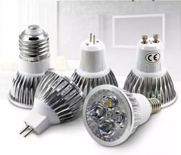 Wholesale Mr16 Led Blue 12v - Super Bright Dimmable LED 9w 12w 15W GU10 GU5.3 E27 E14 MR16 LED Sport light lampS CREE downlight DC12V AC 110V 220V 240V Spotlight