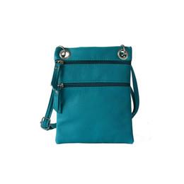 Wholesale Zipper Charms Wholesale - Wholesale- Charming Tassel Women's Small Messenger Bag Crossbody Bag Girls Casual Leather Zipper Handbags bolsas feminina sac a main bolsos