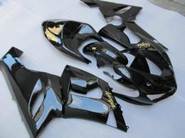 Wholesale Kawasaki Ninja 636 Body Kits - 3 Free gifts New Fairing kits for 05 06 ZX 6R 636 2005 2006 Ninja ZX6R ZX636 ABS fairings Body kits Cool black glossy