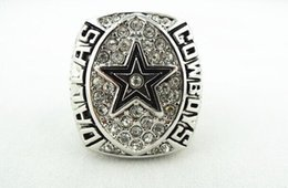 Wholesale Dallas Cowboys Championship Rings - High Qualiity 1992 Dallas Cowboys Super Bowl championship ring Size 11 solid replica