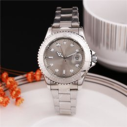 Wholesale Mirror Battery - top luxury watch brand men watch Stainless steel strap AIR KING Black dial green pointer Sapphire glass mirror men's watches