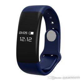 Wholesale Free Gps Monitoring - H30 Smart Bracelet Waterproof Band Bluetooth Wristbands Heart Rate Monitor Fitness Sleep Sports Tracker Pedometer Wristband free shipping