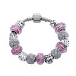 Wholesale Europen Beads - Free Shipping New Alloy Zodiac Europen Style Designs Charms Beads Jewelry Fit Charm Bracelet DIY Gifts for Women