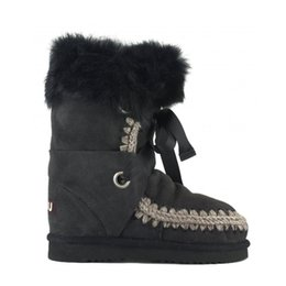 Wholesale D Fur - 2017 New Mou Warm Winter Snow Boots Genuine Sheepskin Leather Comfortable Women Boots Mon Brand 100% Fur Nature Leather Wool of Sheep Boots