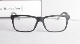 Wholesale product carbon - 2017 New Product Carbon Fiber Mirror Leg Super Light Plate Man's Short Sighted Eyeglasses Frame Fashion Flat Glasses GG1045