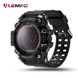 Wholesale Counting Watch - Luxury Brand Smart Watch Men With BT Call  SMS  Twitter  Facebook  Whatsapp  Skype Reminder Sports Steps Counting Watch