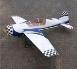 Wholesale Gasoline Color - 73in Yak54 30cc RC Gasoline Airplane ARF Petrol Airplane ARF -Blue White Color Cheap airplane engineering High Quality airplane bed