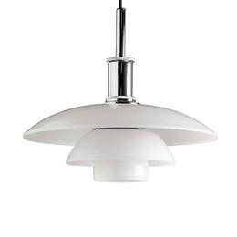 Wholesale Louis Poulsen Lamps - Bulb Free Louis Poulsen PH 3 layers Milky glass Pendant Lighting Denmark Design Suspension Lamp free shipping