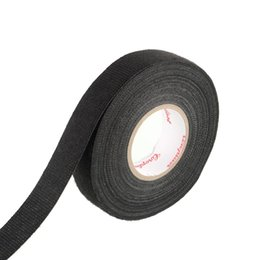 Wholesale Tape For Fabric - Hot High Quality 1x Adhesive 19mm x20M Cloth Fabric Tape Looms Wiring Harness For Car High Temperature Cloth Tape 20 M order<$18no track