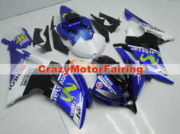 Wholesale Yamaha R6 Abs - 4 Free Gifts New Injection ABS Fairing kits 100% Fit for YAMAHA YZFR6 08 09 10 11 12 13 14 15 YZF R6 2008-2015 YZF600 Movistar 46