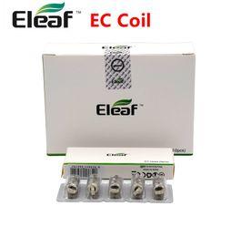 Wholesale Ec Free - 100% Original Eleaf EC Head 0.3ohm 0.5ohm Coil Fit iJust S 2 Melo Atomizer Tanks Electronic Cigarette DHL Free