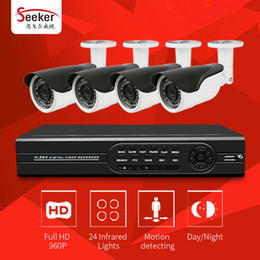 Wholesale Dvr Security System - Seeker 4ch 1080N 1080P HDMI 2000TVL 1080P 960P HD Outdoor Home Security System AHD DVR Kits