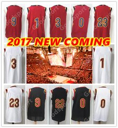 Wholesale Rose Gold Fashion - 2017 18 NEW CAVS with Name Thomas Stitched Swingman HOT JAMES FASHION Love wholesale jerseys Rose Sport Jersey Wade