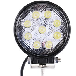 Wholesale Car Working Light - LED Work Light Floodlight Tractor Truck Off-road SUV 12V-24V Automotive Car Outdoor discover explore Camping Working Lamp