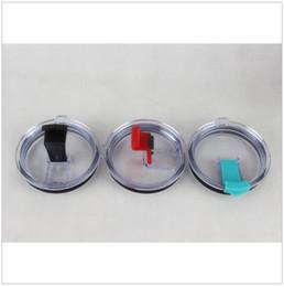 Wholesale Large Plastic Lid - YETI Lid Rambler Tumbler Spillproof Cups Lids Cars Beer Mug Large Capacity Mug Tumblerful Lids