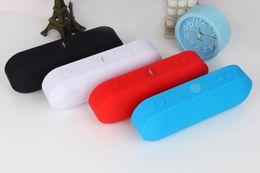 Wholesale Cheap Wholesale Mini Radio - MLL-60 Mini Portable Wireless Bluetooth Speaker Multiple Colors FM Radio TF Card USB AUX Input Hot selling Wholesale Cheap Free DHL