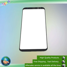 Wholesale Touch Screen Replacement Glass - 10PCS Original Front Outer Touch Screen Glass Lens Replacement for Samsung Galaxy S8 G950 S8 Plus G955 free DHL