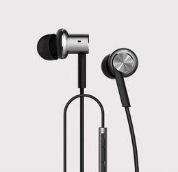 Mi xiaomi auricolari online-E-MI Auricolare ibrido Xiaomi di alta qualità 2 unità Auricolare Hi-Fi In-Ear Xiaomi Mi 1 più cuffie a pistone con telecomando Mic