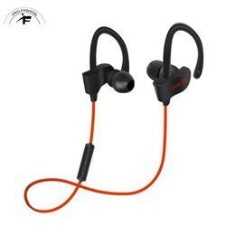Wholesale Guitar Hooks - Bluetooth 4.1 Stereo Earphone Sport Running Headphone Studio beat Guitar Music Headset + Microphone Deep Bass