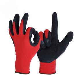 Guantes de hombre online-OZERO Work Gloves Stretchy Security Protection Use Safety Workers Soldadura para la agricultura Farm Garden Guantes para hombres Mujeres