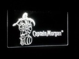 Wholesale Captain Morgan Neon - b-68 Captain Morgan Spiced Rum Bar NR LED Neon Light Sign Cheap sign euro High Quality sign pvc