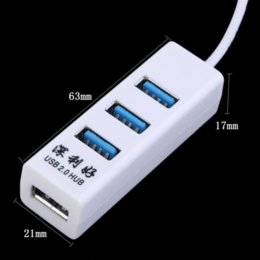 Canada 2016 Date 4 ports USB 2.0 Multi HUB Splitter Expansion Câble Adaptateur Pour PC Ordinateur Portable Pas cher câble canon Offre