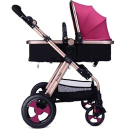 Wholesale aluminium frame - 3 Modes High View Fold Baby Stroller ,Aircraft-grade Aluminium Frame,Non-Pneumatic Tire Wheel,SGS,CCC certification