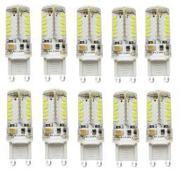 Wholesale Bi Pin 24v - G9 57LED SMD3014 300-450LM Warm White White  Natural White Decorative Waterproof DC AC10-20V LED Bi-pin 10PCS JTFL028
