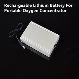 Wholesale Oxygen Inhaler - Rechargeable Lithium Battery For Daily Care Mini Car Oxygen Bar Portable Oxygen Inhaler Oxygenerator Battery Free Shipping