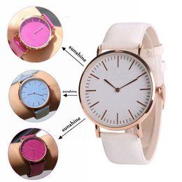 2019 farbwechsel uhren Sun Watches Geneva Farbe ändern White Fashion Quarz Damen Armbanduhr Analog Vintage Thermochromie Temperature Discolor Uhr rabatt farbwechsel uhren
