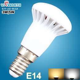 Wholesale E27 2835 9w - R39 E14 Led Lamp R63 E27 B22 Led Bulb 3W 5W 7W 9W Smd2835 12pcs 18pcs AC 110V 220V Spotlight Warm Cold White Umbrella Lampada