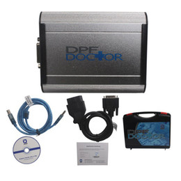 Wholesale Analysis Software - DPF Doctor Diesel Particulate Filter Universal Truck Emissions Diagnosis Analysis Tool With CD Software USB Connector Adapter