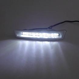Wholesale Land Cruiser Led Drl - Car DRL kit for TOYOTA PRADO LANDCRUISER 2700 4000 FJ150 LC150 2010~2013 led Daytime Running Light Daylight fog lamp