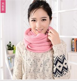 Wholesale Cheap Wholesale Pashmina - Fashion Designer Plain Acrylic Tassel Scarf For Adults Mens Womens Big Long Winter Neck Warmer Ladies Cheap Pashmina Scarf Pink Red 9 Color