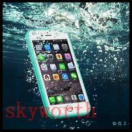 Wholesale Orange Water Gels - For iPhone 7 6s Plus Samsung Galaxy S7 Ultra Slim Waterproof Water Proof Full Body Screen Protect Soft TPU Gel Front & Back Case