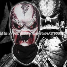 Wholesale Alien Vs Predator Mask - Predator mask Predator face Alien Hunter AVP Alien vs. Predator mask