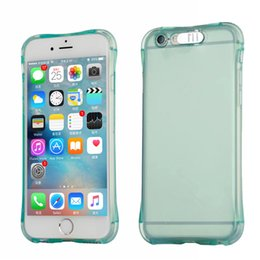 Wholesale Per Cover - LED Light Up Call Lightning Flash Phone Case For iPhone 7 Transparent Soft Shockproof Covers(100pcs per model  lot can mixed 2 color)