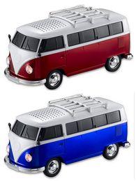 Wholesale Bus Player - 100 pcs dhl free new bus stereo bluetooth speaker WS-266BT new gift cartoon children vw bluetooth speaker
