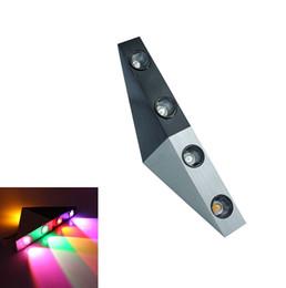 Canada 5W a mené des lumières d'applet de mur avec l'allée chic en aluminium de lumière d'allée de chambre à coucher de forme triangulaire de lumières décoratives, lumière multicolore Offre