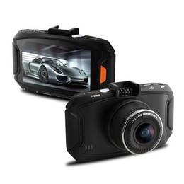 Wholesale Hdr Sensor - Car DVR Camera G90 Full HD 1080P 3.0 inch LCD G-Sensor Night Vision 500Mega 140 Wide angle video CAM HDR Recorder Dash Cam DVRs