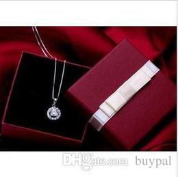 anel de fita vermelha atacado Desconto Atacado de alta qualidade jóias embalagem e exibição de jóias caixa de presente Caixa de presente de caixa de presente de caixa de presente de fita vermelha brincos RJ1310 0416dd